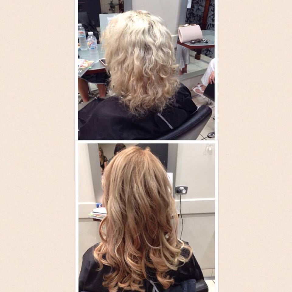 Hair Extensions Before and After-Hair-Salon Hamilton-Kokum Hair Skind and Body-02 4961 2822